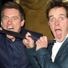 Dick and Dom's masterclass in making mischief at school